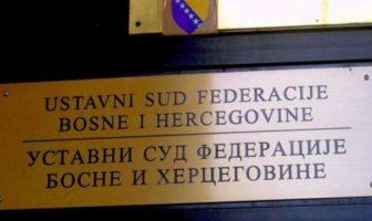 Ustavni sud FBiH: Stopa zatezne kamate iz radnih sporova vraćena na 12 posto