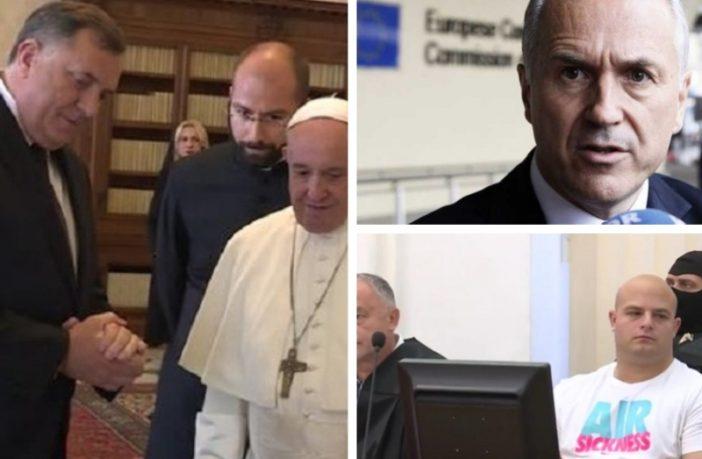 Ludila, ali samo nek' su naša: Himna BiH na top listi, papa se sastaje sa osobom koja negira genocid, Inckova zabrinutost evoluirala u čuđenje