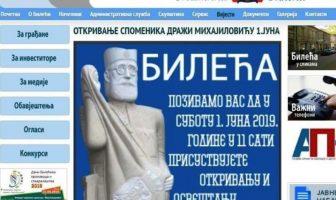 Četništvo u institucijama: Otkrivanje i osveštanje spomenika Draži Mihailoviću u Bileći