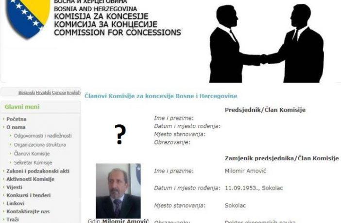 Pola rukovodstva Komisije za koncesije BiH u penziji, ostalima mandat istekao prije 10 godina