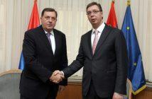 Vučić obećao Dodiku 50 miliona KM nekoliko sati nakon otkazivanja sjednice Predsjedništva BiH