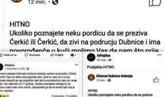 Putem Facebooka ispravljali grešku nakon pogrešno izdatog lijeka za dijete!
