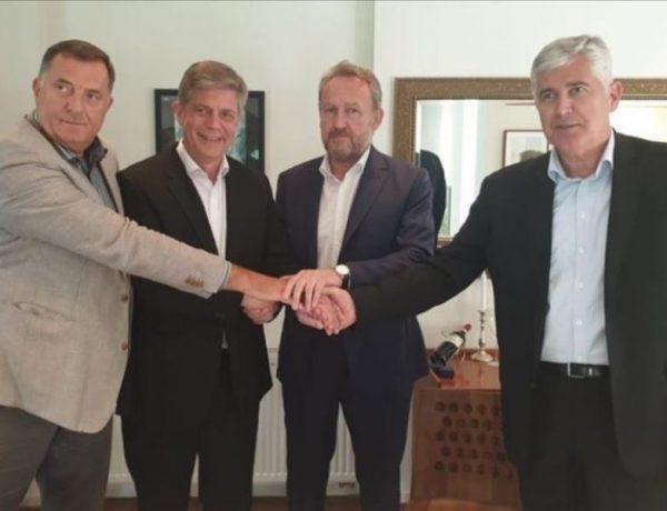 Dodik i Čović preuzimaju kontrolu nad Vijećem ministara BiH