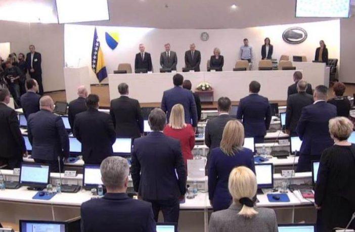 Potvrđen novi saziv Vijeća ministara Bosne i Hercegovine