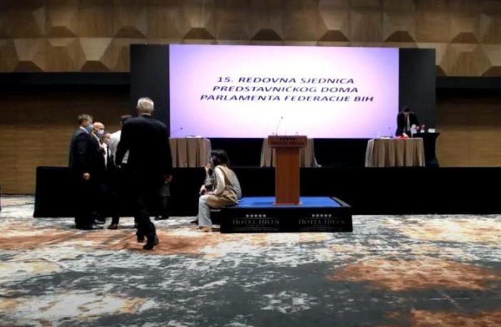 """Sarajevska kantonalna inspekcija """"upala"""" na sjednicu Parlamenta FBiH"""