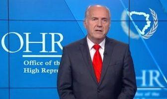 Inckova oproštajna poruka građanima BIH: Naša zajednička kuća se zove Bosna i Hercegovina i ne treba da bude tijesna